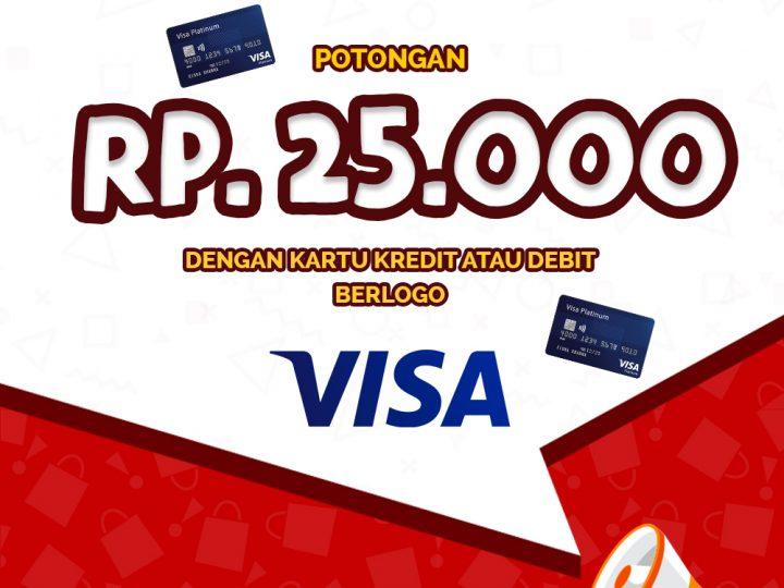 Diskon Rp 25.000 Visa di Gokana Ramen & Teppan (Edisi II)