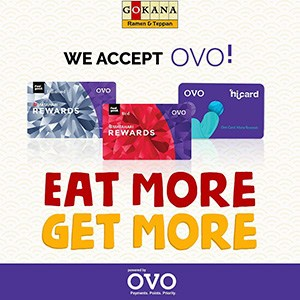 We Accept OVO!