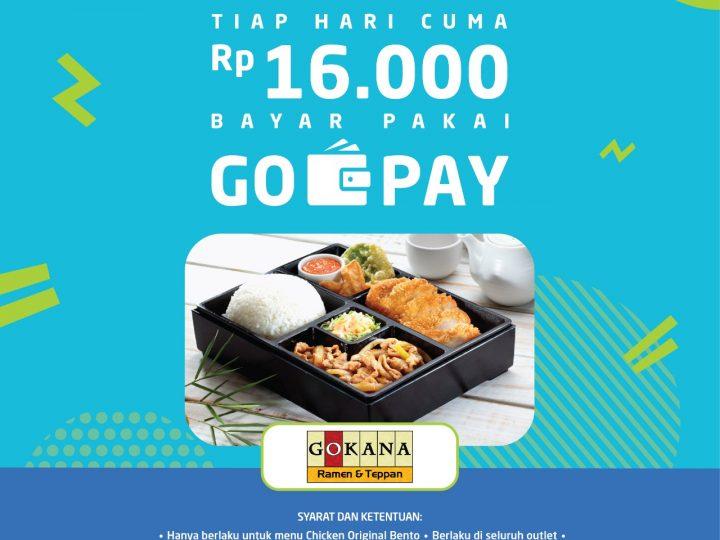 Gokana x Go-Pay Promo
