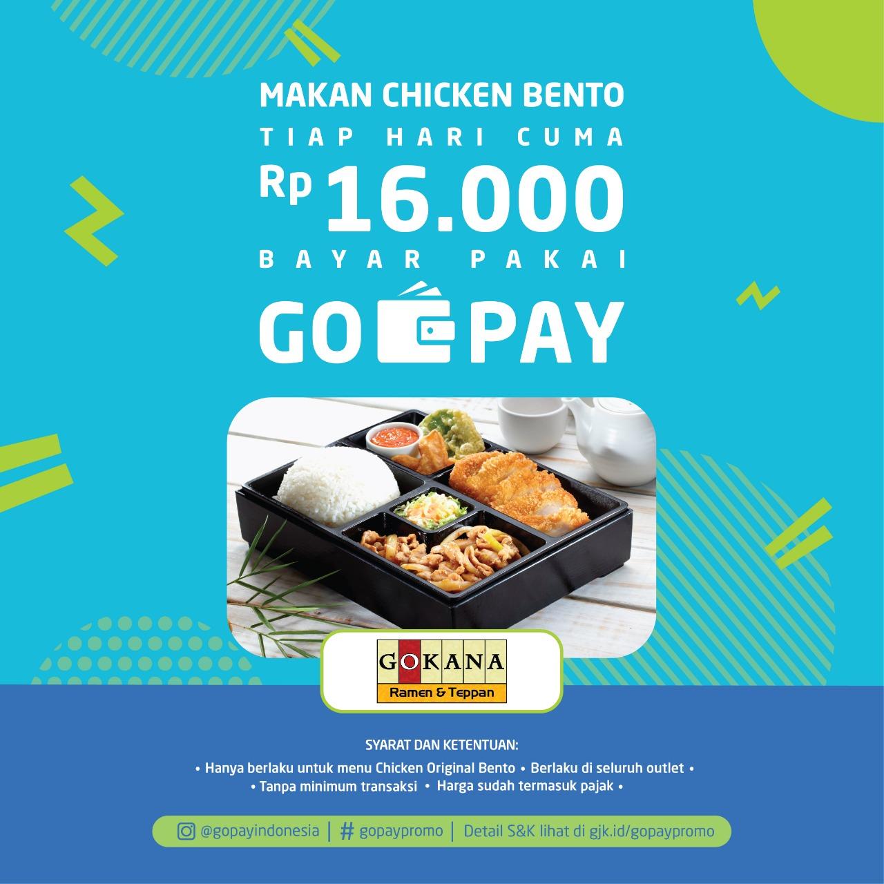 Gokana X Go Pay Promo Gokana